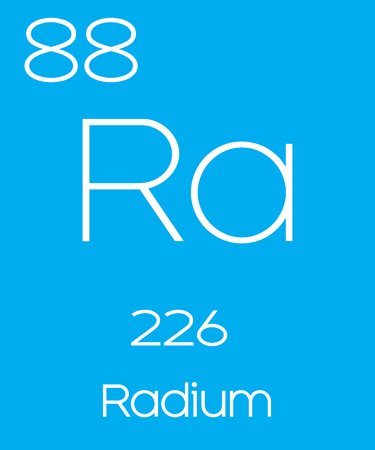 An Informative Illustration of the Periodic Element - Radium