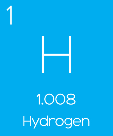 actinides: An Informative Illustration of the Periodic Element - Hydrogen