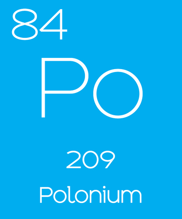 polonium: An Informative Illustration of the Periodic Element - Polonium