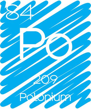 periodic element: An Informative Illustration of the Periodic Element - Polonium