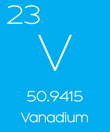 periodic element: An Informative Illustration of the Periodic Element - Vanadium Illustration