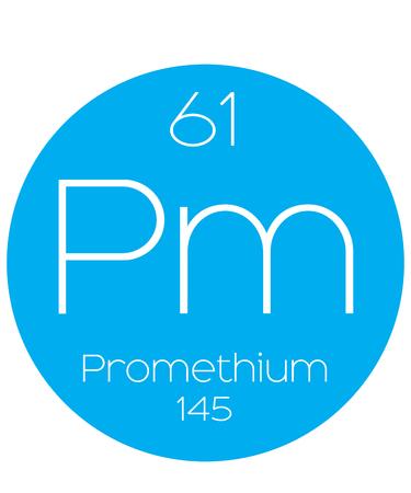 actinides: An Informative Illustration of the Periodic Element - Promethium