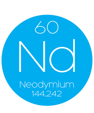 actinides: An Informative Illustration of the Periodic Element - Neodymium