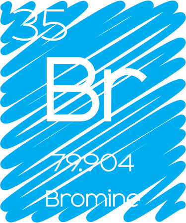 periodic element: An Informative Illustration of the Periodic Element - Bromine