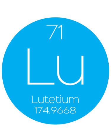 actinides: An Informative Illustration of the Periodic Element - Lutetium