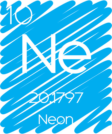 actinides: An Informative Illustration of the Periodic Element - Neon Illustration