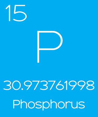 actinides: An Informative Illustration of the Periodic Element - Phosphorus