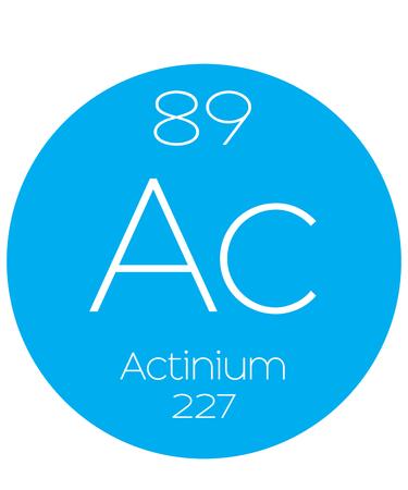 periodic element: An Informative Illustration of the Periodic Element - Actinium