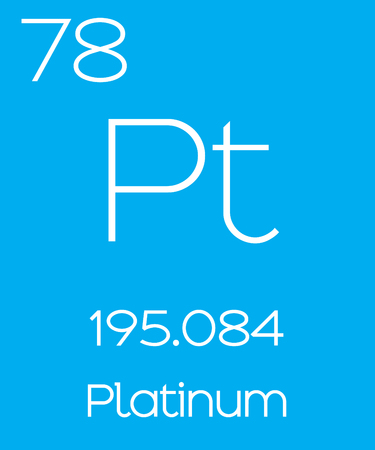 platina: An Informative Illustration of the Periodic Element - Platinum