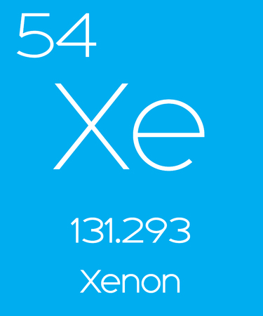 actinides: An Informative Illustration of the Periodic Element - Xenon