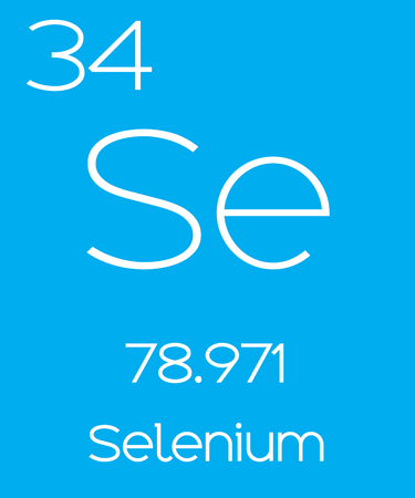 An Informative Illustration of the Periodic Element - Selenium Illustration