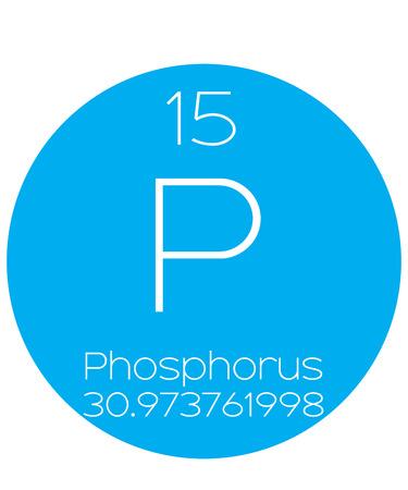 actinides: An Informative Illustration of the Periodic Element - Phosphorus