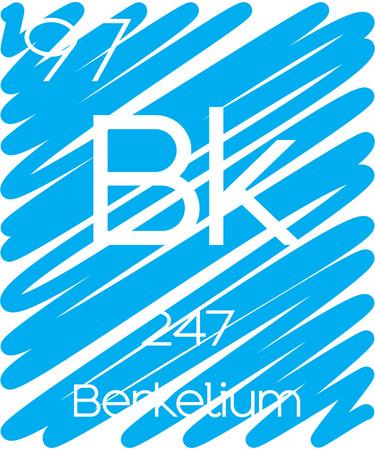 periodic element: An Informative Illustration of the Periodic Element - Berkelium