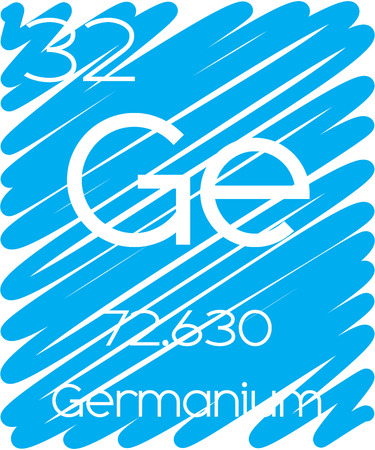 actinides: An Informative Illustration of the Periodic Element - Germanium
