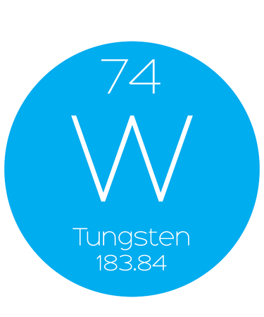 tungsten: An Informative Illustration of the Periodic Element - Tungsten