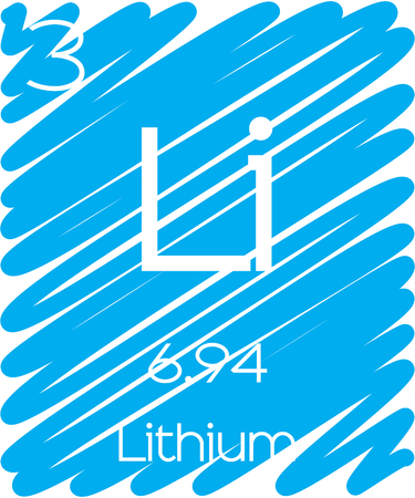 lithium: An Informative Illustration of the Periodic Element - Lithium