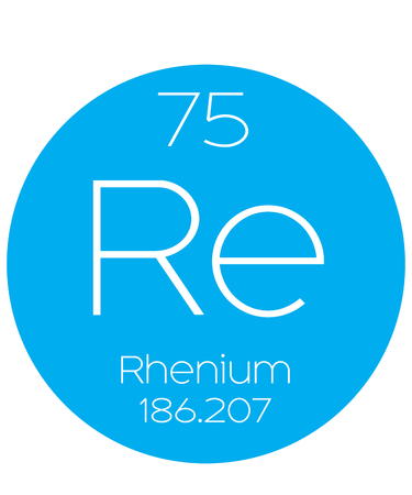 halogens: An Informative Illustration of the Periodic Element - Rhenium