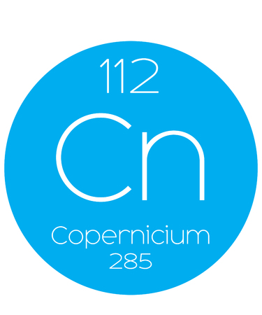 actinides: An Informative Illustration of the Periodic Element - Copernicium