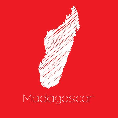 madagascar: A Map of the country of Madagascar