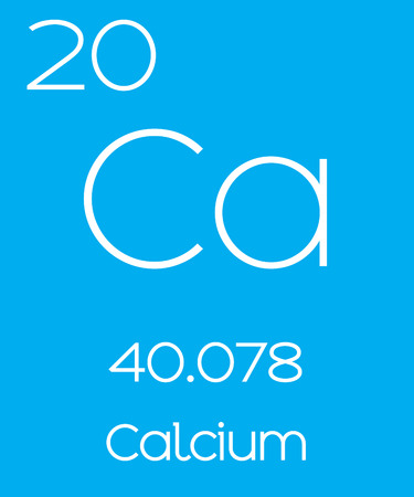 An Informative Illustration of the Periodic Element - Calcium