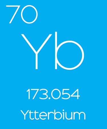 periodic element: An Informative Illustration of the Periodic Element - Ytterbium