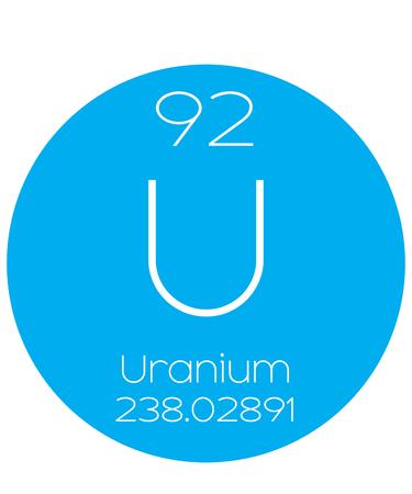 uranium: An Informative Illustration of the Periodic Element - Uranium
