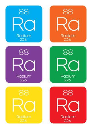 radium: An Informative Illustration of the Periodic Element - Radium