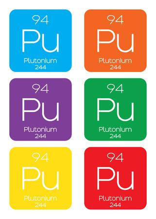 plutonium: An Informative Illustration of the Periodic Element - Plutonium
