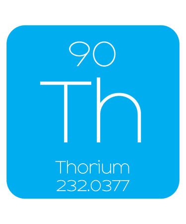 thorium: An Informative Illustration of the Periodic Element - Thorium