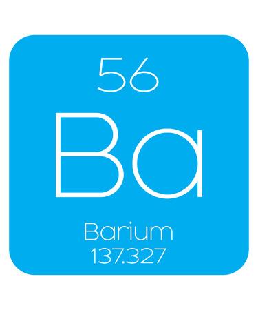 barium: An Informative Illustration of the Periodic Element - Barium