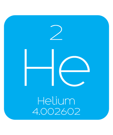 helium: An Informative Illustration of the Periodic Element - Helium