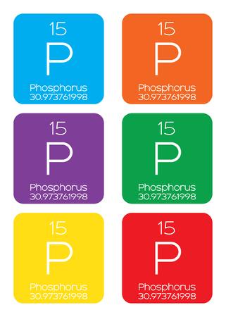 periodic element: An Informative Illustration of the Periodic Element - Phosphorus