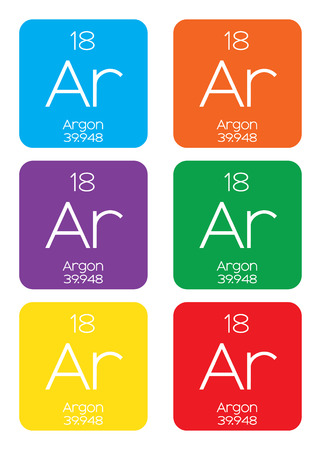 informative: An Informative Illustration of the Periodic Element - Argon