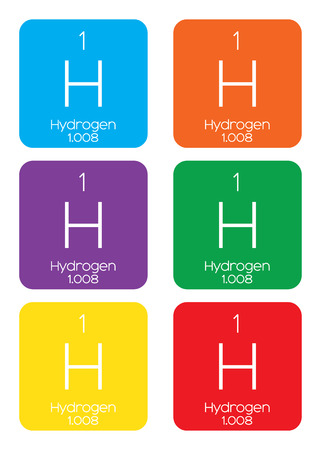 hidr�geno: An Informative Illustration of the Periodic Element - Hydrogen