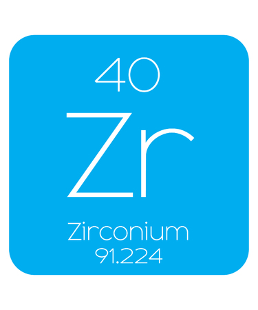 actinides: An Informative Illustration of the Periodic Element - Zirconium