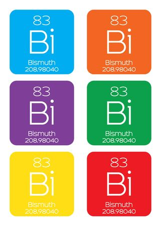 actinides: An Informative Illustration of the Periodic Element - Bismuth