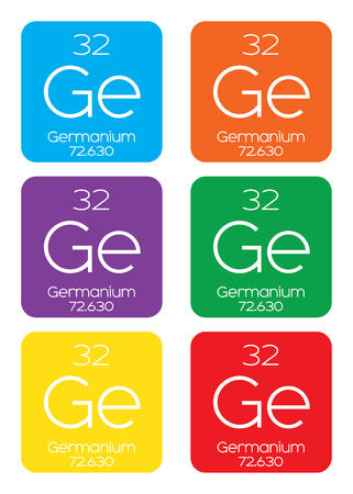 halogens: An Informative Illustration of the Periodic Element - Germanium