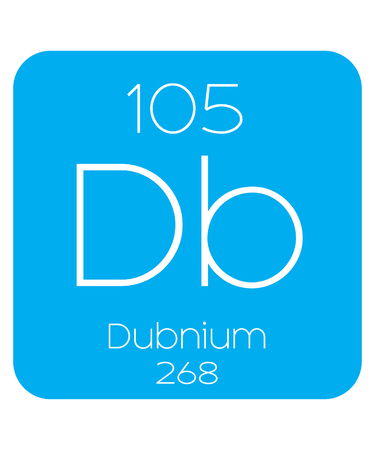 periodic element: An Informative Illustration of the Periodic Element - Dubnium