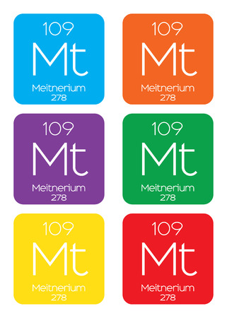 periodic element: An Informative Illustration of the Periodic Element - Meitnerium