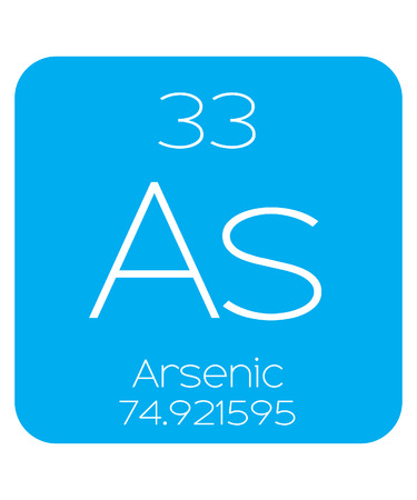 arsenic: An Informative Illustration of the Periodic Element - Arsenic Illustration