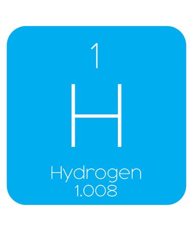 hidrogeno: Una Ilustraci�n Informativo del Elemento Peri�dica - Hidr�geno
