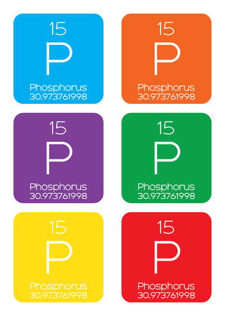 informative: An Informative Illustration of the Periodic Element - Phosphorus