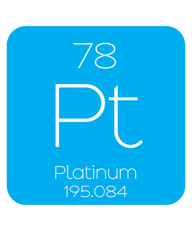 An Informative Illustration of the Periodic Element - Platinum