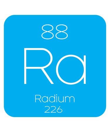 An Informative Illustration of the Periodic Element - Radium