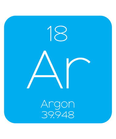 halogens: An Informative Illustration of the Periodic Element - Argon