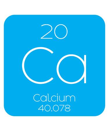 An Informative Illustration of the Periodic Element - Calcium
