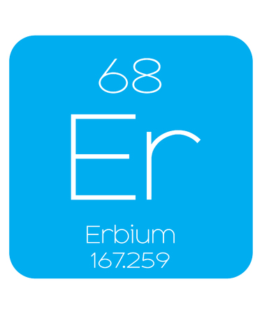 actinides: An Informative Illustration of the Periodic Element - Erbium