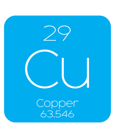 An Informative Illustration of the Periodic Element - Copper