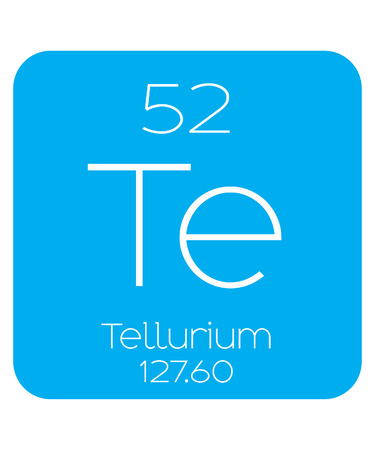 periodic element: An Informative Illustration of the Periodic Element - Tellerium Illustration