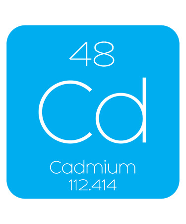 cadmium: An Informative Illustration of the Periodic Element - Cadmium